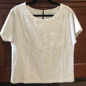 Linen pocket T-Shirt